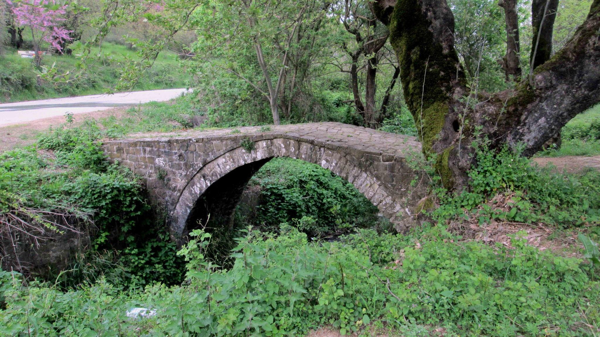 Λίμνη Πλαστήρα Μοσχάτο γεφύρι Καρδίτσα ποδήλατο Πίνδος