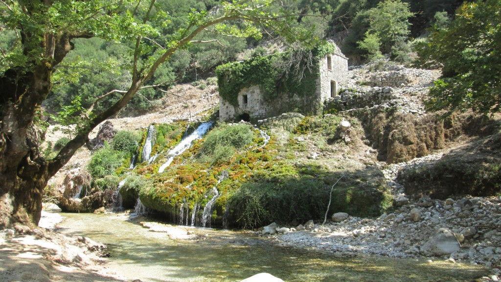 Ηπειρος Σούλι νερόμυλος