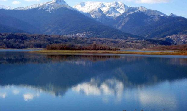 Λίμνη Πλαστήρα λίμνες Καρδίτσα φράγμα Πίνδος