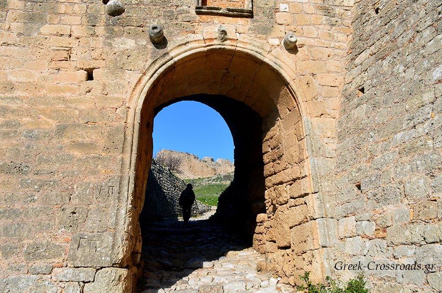 Αρχαία Κόρινθος Ακροκόρινθος κάστρο