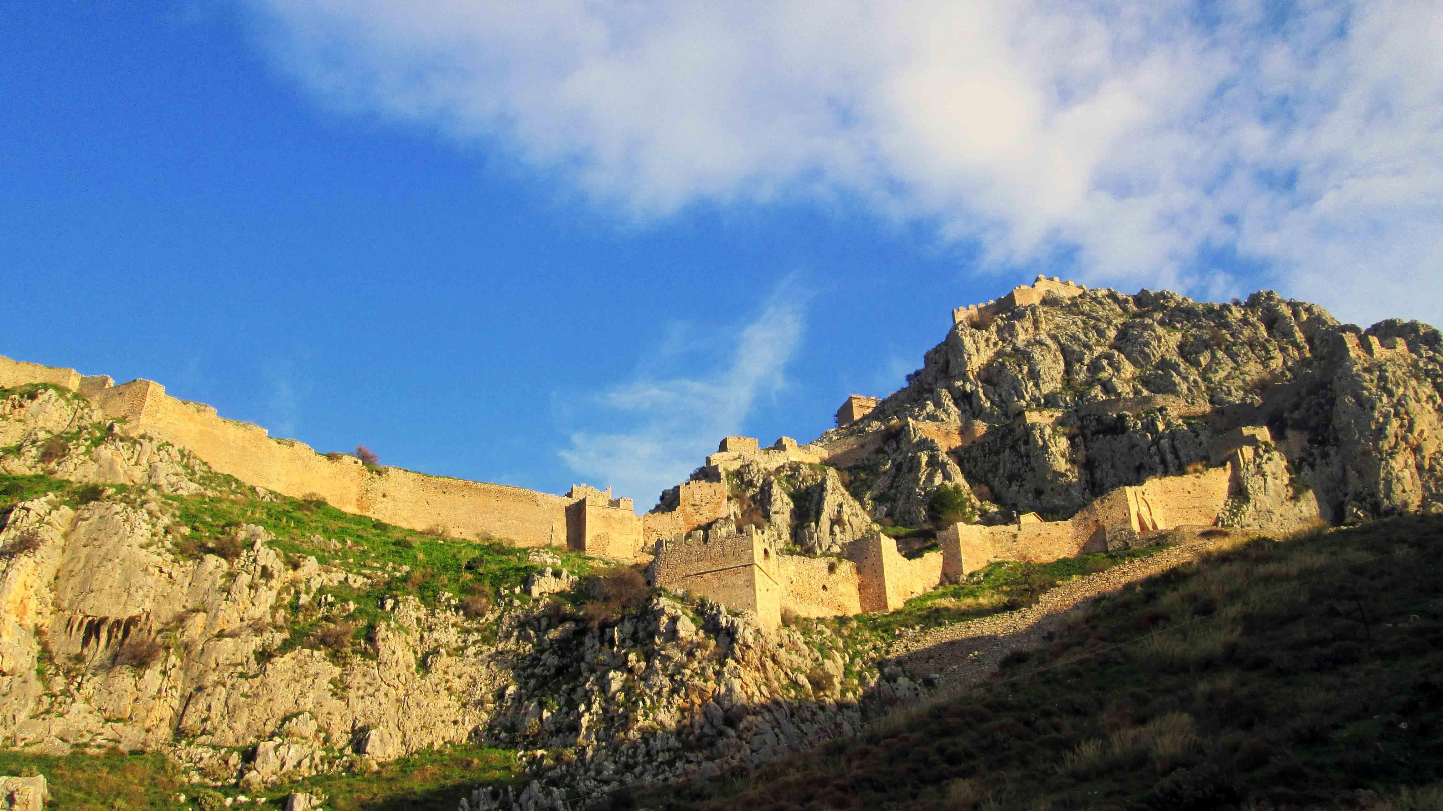 Ακροκόρινθος Αρχαία Κόρινθος κάστρο