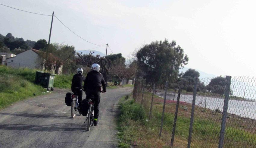 Εύβοια Γιάλτρα Αιδηψός Βρυνιώτης ποδήλατο φάρος Βασιλίνας