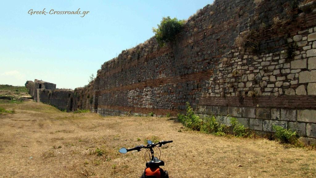 Αρχαία Νικόπολη Πρέβεζα ποδήλατο