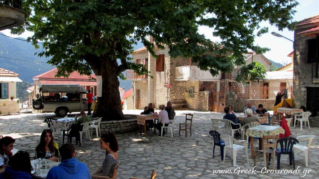 Kryoneria village Nafpaktos