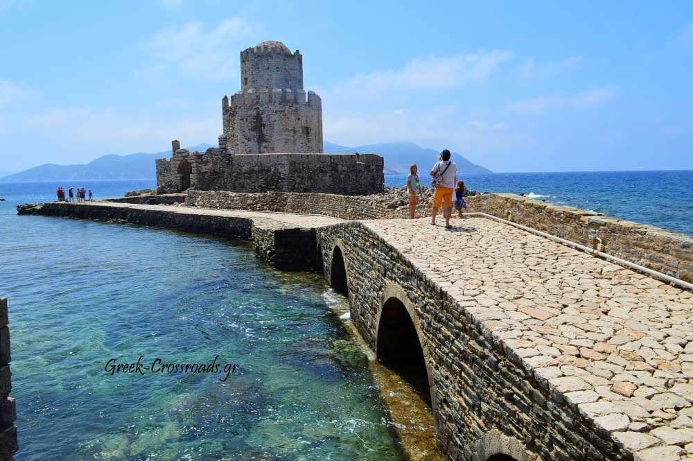 Μεσσηνία Μεθώνη κάστρο