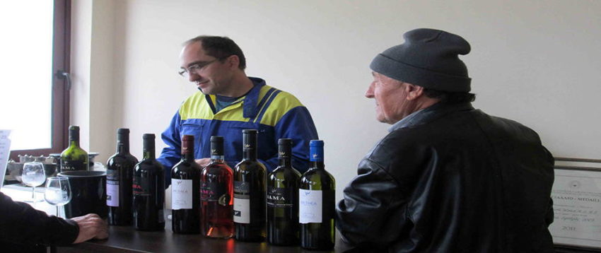 Βρυνιώτης βραδυανό Εύβοια οινοποιείο κρασί
