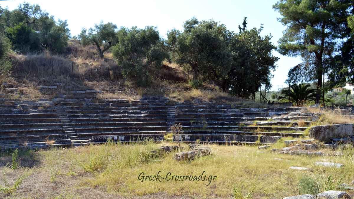Γύθειο Λακωνία αρχαίο θέατρο