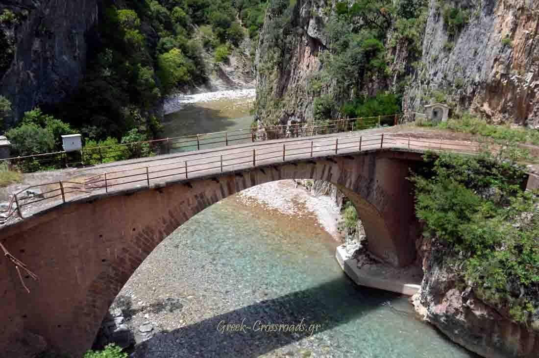 Ευρυτανία Διπόταμα γεφύρι