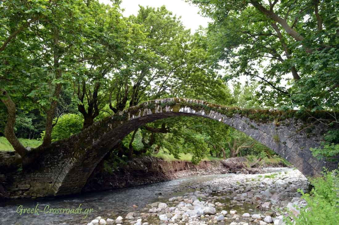 Ευρυτανία Κορυσχάδες γεφύρι