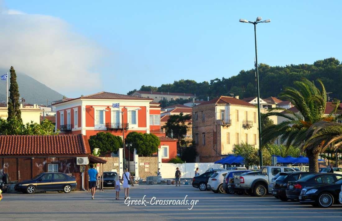 Μεσσηνία Πύλος σπίτι ολυμπιονίκη Τσικλιτήρα
