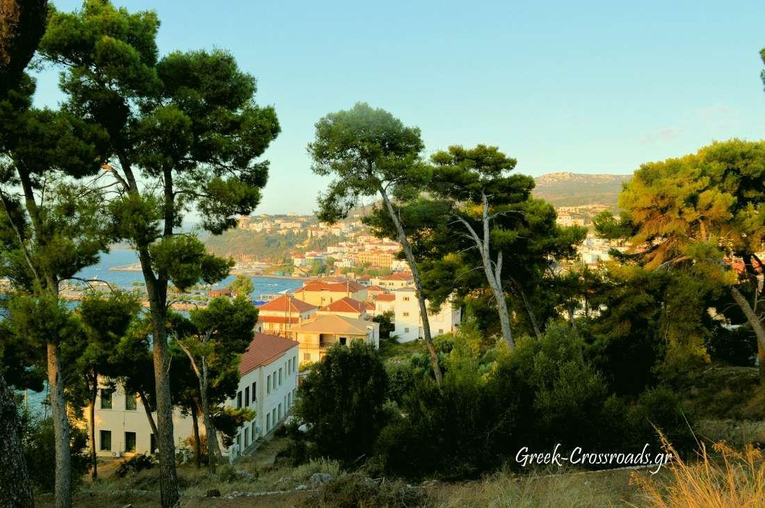Μεσσηνία Πύλος θέα από κάστρο