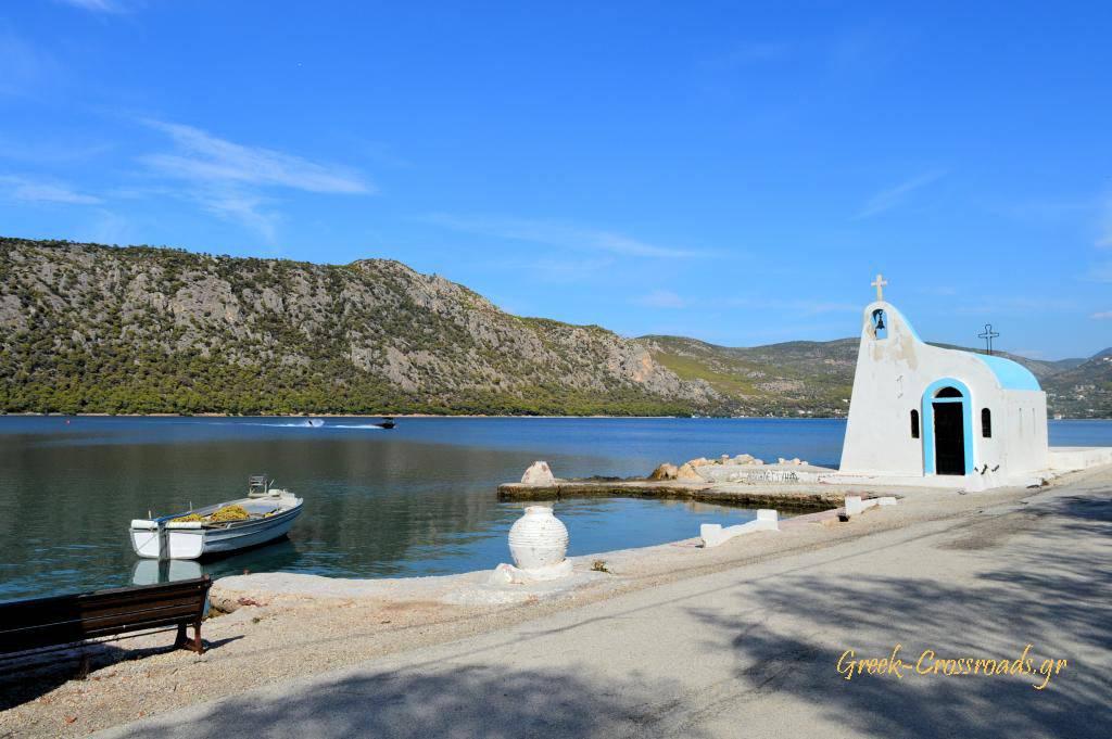 Λίμνη Βουλιαγμένη Ηραίο Κορινθία