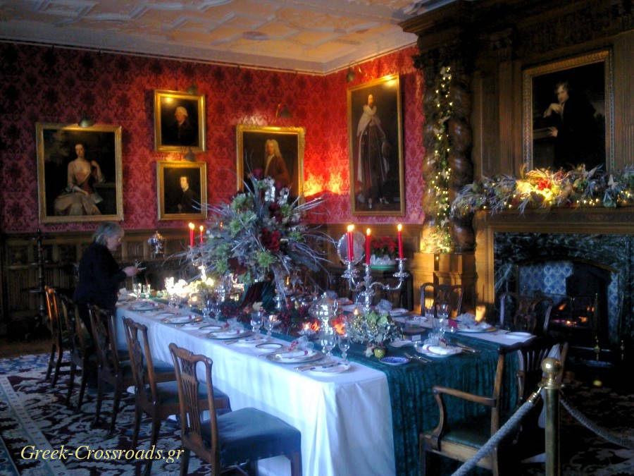 England Christmas Holker hall