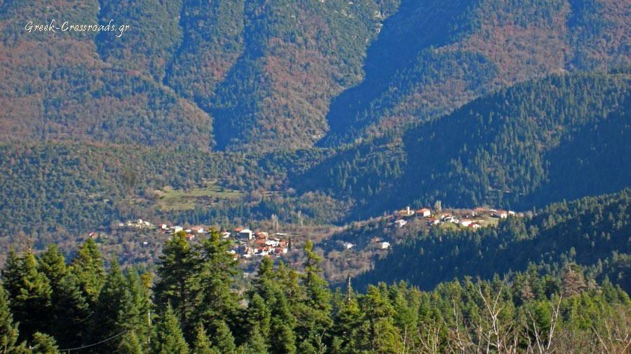 Ορεινή Ναυπακτία φάρμα Μίχου χωριά