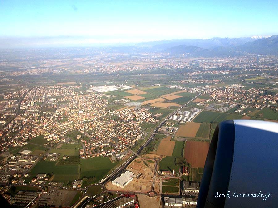 Bergamo milano flight