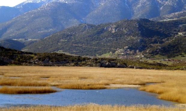 Στυμφαλία λίμνη Κορινθία