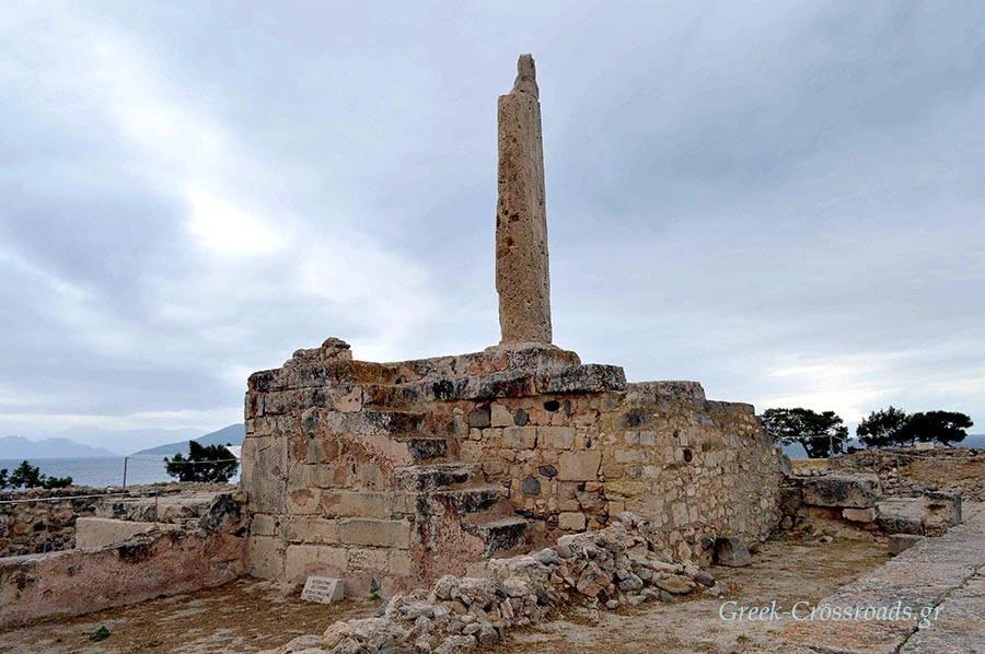 Αίγινα αρχαιολογικός χώρος Αίγινα Αργοσαρωνικός