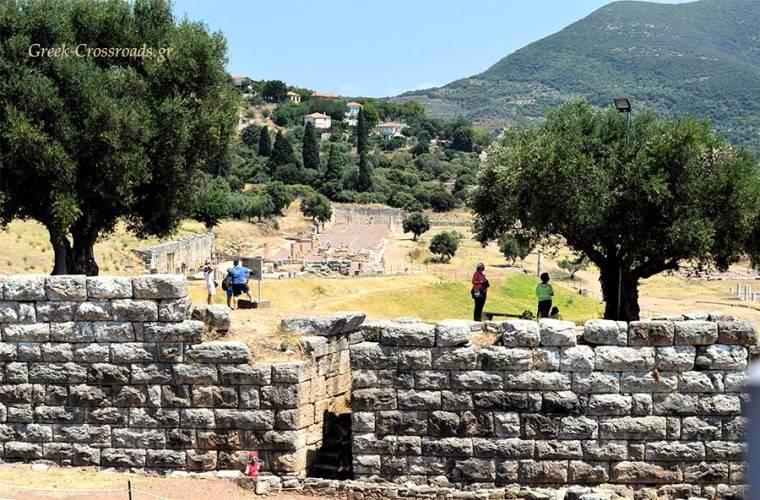 Αρχαία Μεσσήνη Μεσσηνία αξιοθέατα αρχαιολογικός χώρο