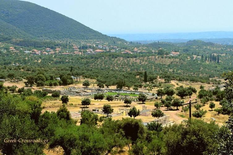 Αρχαία Μεσσήνη Μεσσηνία αξιοθέατα αρχαιολογικός χώρος