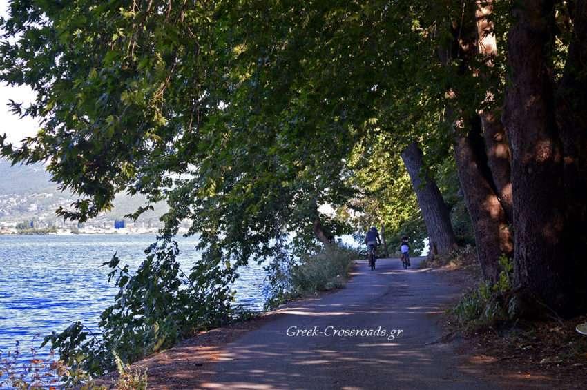 Καστοριά γύρος λίμνης ποδήλατο
