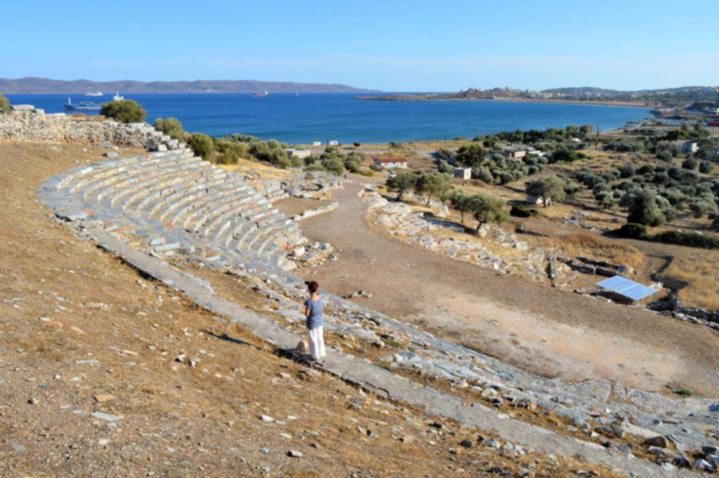 Λαύριο αρχαίο θέατρο Θορικού