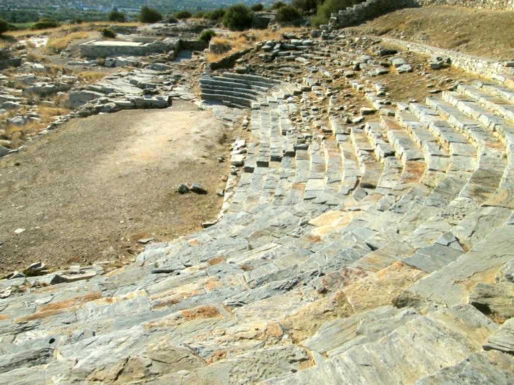 Λαύριο αρχαίο θέατρο Θορικό