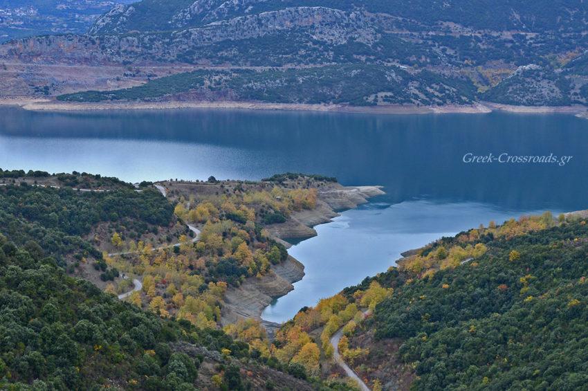 Μόρνος γύρος λίμνη
