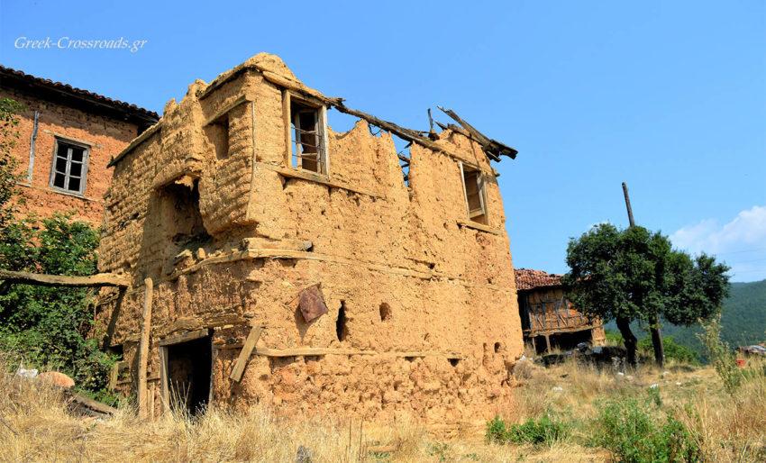 Κορέστεια Καστοριάς πλινθόκτιστα χωριά