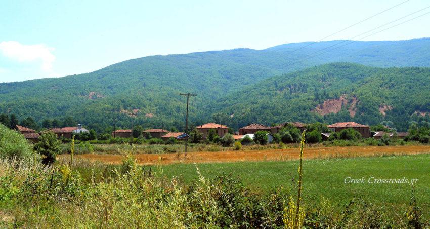 Κορέστεια Καστοριάς πλίνθινα χωριά
