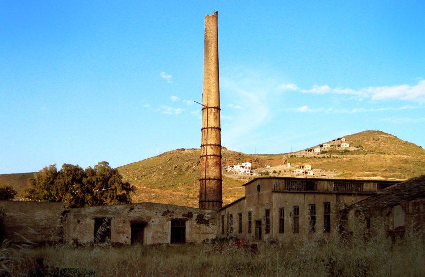 Τζιά Κέα εργοστάσιο εμαγιέ