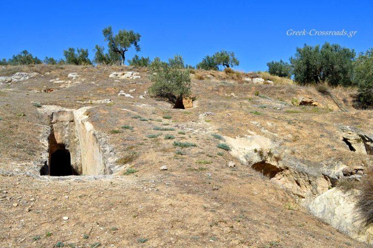 Αηδόνια Νεμέας Μυκηναϊκό Νεκροταφείο