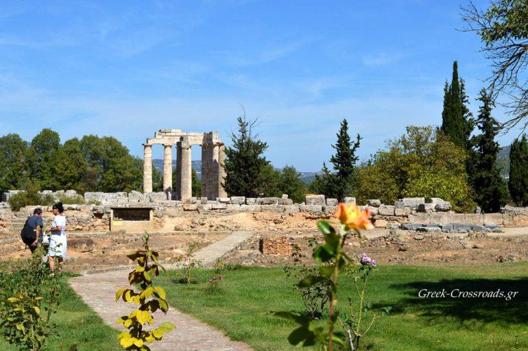 Αρχαία Νεμέα Ναός Διός