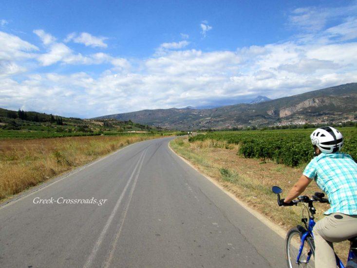 Νεμεα Δρόμοι κρασιού βόλτα με ποδήλατο