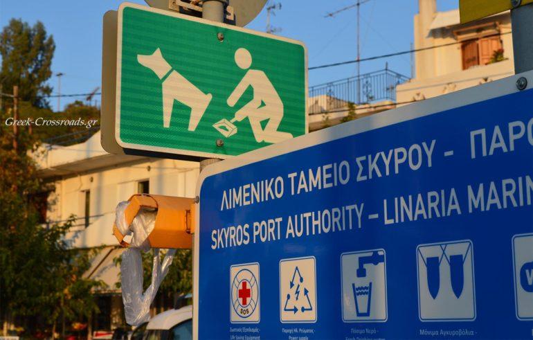 Σκύρος λιμάνι