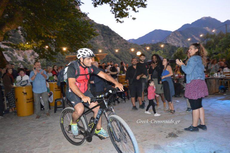Φεστιβάλ τρύγου Χελιδόνα ποδηλάτης