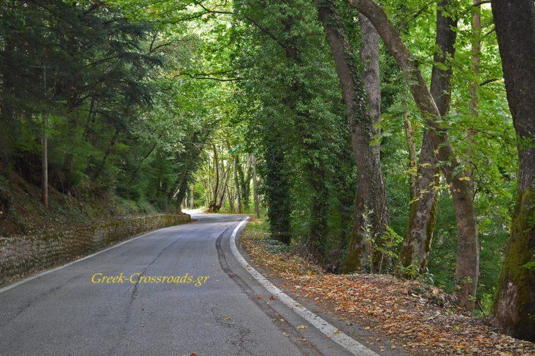 Μικρό Χωριό Ευρυτανία δρόμος