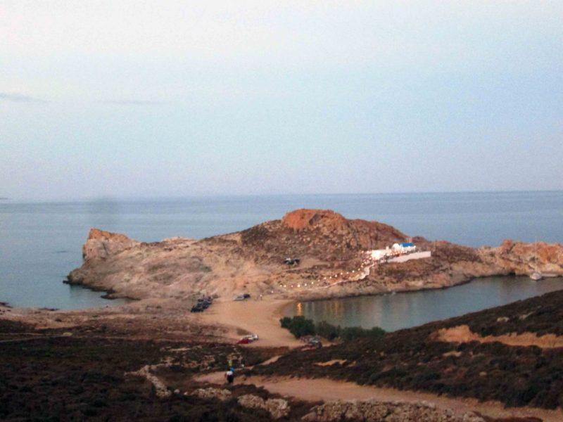 Σέριφος παραλία Αγιος Σώστης