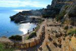 Λουτράκι Ηραίο αρχαία παραλία